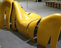 "Modular bench ""Beresta"""
