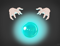 Orb and Hands