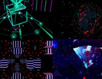 3D Neon - VJ Loop Pack (4in1)