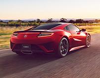 Acura NSX // CGI