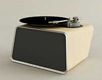 FENESSY-bluetooth record player 深圳梵尼詩-藍芽黑膠音響設計