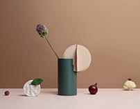 Delaunay & Gabo vases by NOOM