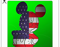 Mickey Mouse Playing Card