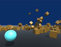Bullet Simulation in Unity