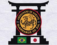 Karate Guerreiros do Sul - Identidade Visual