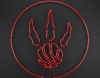 Toronto Raptors Neon Logo
