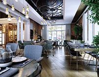 Modern Cafe Style