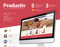 Productiv Multipurpose Responsive Website 2