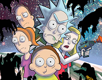Rick and Morty Print