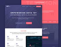 Homepage Design -Website