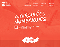 Webdesign - Les Giboulées Numériques // FAN
