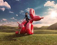 Koons Dog by Sagmeister & Walsh
