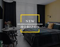 New Horizon   Hospitality Company Web Design