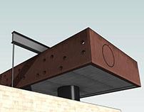 Rem Koolhaas Maison a Bordeaux - Revit model