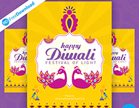 Flyer Happy Diwali Greeting