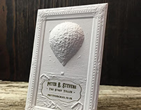 Cute 3D Embossed Business Cards