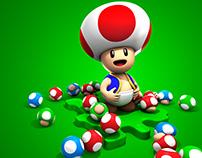 Various Super Mario Bros. Themed Work