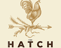 The Hatch Logo Illustration by Steven Noble