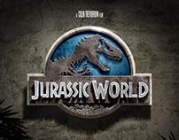 Jurassic World Concept Posters & Web Design (2013)