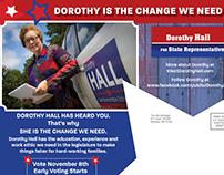 Political Ad Postcard