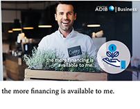 Storyboard & Animation Design | ADIB Business Finance