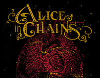 Alice in Chains - Heart and Lungs T-Shirt