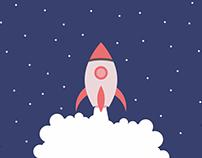Rocket Illustration - Freebies
