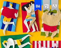 Fuzzy Felt Artworks / 2012