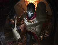 Jhin - League of Legends - Login Screen