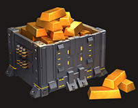 3d (prerendered) icons for a mobile game.
