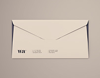 Side Seam Envelope Mockup