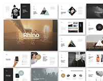Rhino Keynote Presentation Template