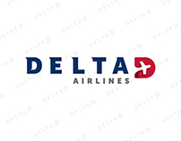 Delta Air Lines Branding Redesign