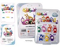 Oddbods Toys & Packaging Designs