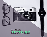 App Mobile • Recommend