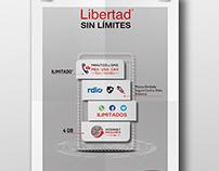 IUSACELL - LIBERTAD SIN LÍMITES & TV