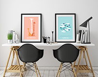 Three Ships Values Posters