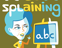 Nansplaining - Affinity Designer Illustration
