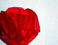 Rose Sculpture