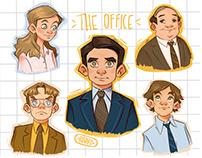The Office fan art