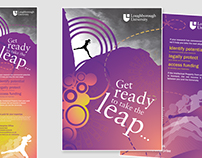 Banner and Leaflet Design for Loughborough University