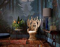 Set Design & Art Direction for Wallpaper Catalogue