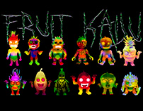 Art Toy-Fruit Kaiju