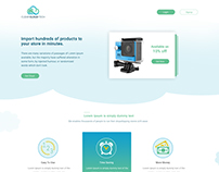 WordPress Website for Funnel Shopify App