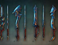 Fantasy Swords Game Concept art