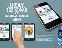 Uzay Toz Kovar- Banner