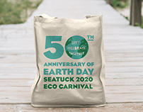 50th Anniversary of Earth Day Logo