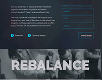 30 Day Health Challenge Landing Page