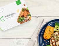 FRESH Meal Plan Branding and Packaging Design