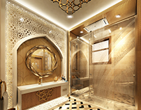 Bathroom (Arabic Modern Style)